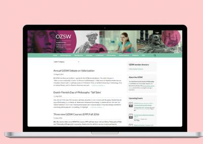 Website Dutch Research School of Philosophy (2013-2015)