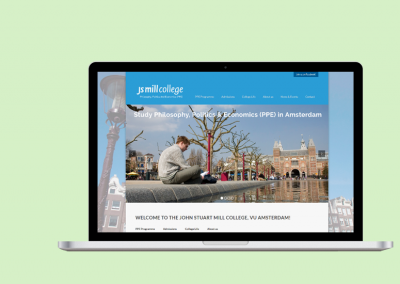 Website John Stuart Mill College (2015-2016)
