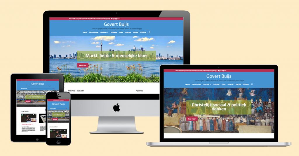 Portfolio site prof. dr. Govert Buijs (2018)