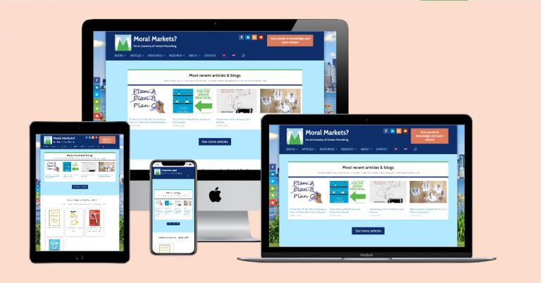 Web Portal 'Moral Markets' (2017-2020)
