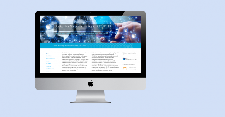 COVID Sub-Site for DDfV Institute (2020)