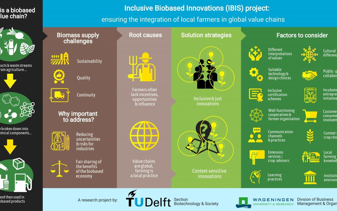 Infographic for Project 'Inclusive Biobased Innovations' (2020)