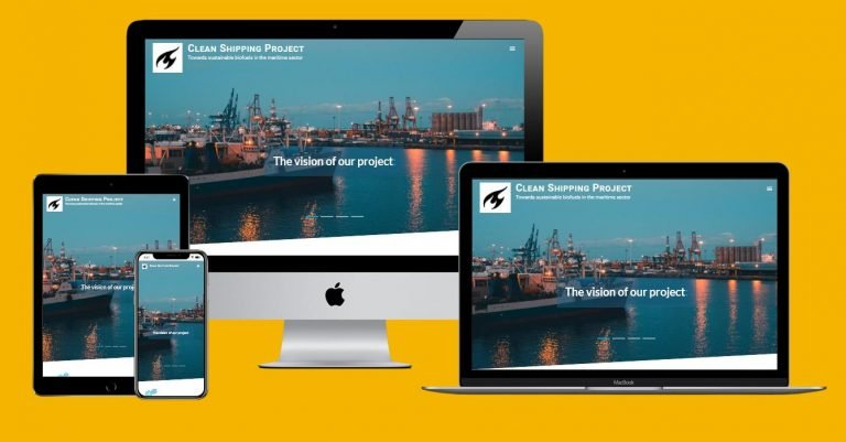 Website Clean Shipping Project (2021)